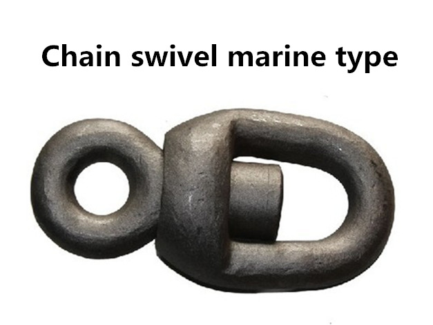 Chain swivel marine type