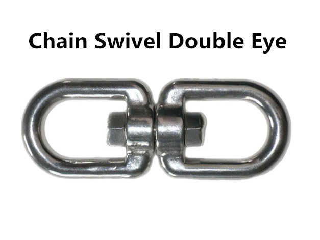 Chain swivel double eye