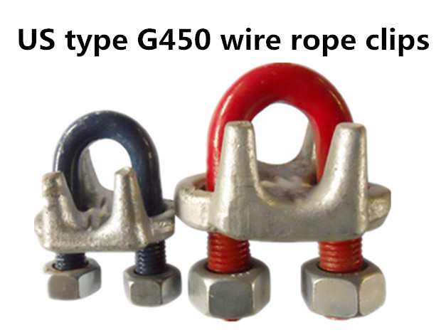 US type G450 wire rope clip